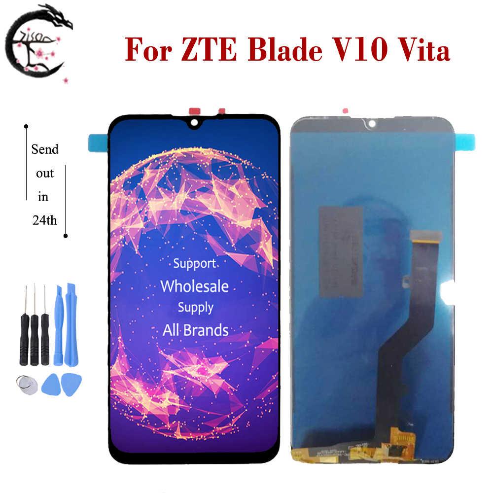 "6.26"" LCD For ZTE Blade V10 Vita LCD Display Screen Touch Sensor Digitizer Assembly Replacement For V 10 V10Vita Full Display"