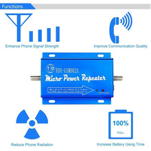 Amplificador celular do impulsionador 2g 3g 4g gsm902 do repetidor do sinal do telefone móvel de lte gsm unicom 900mhz gsm com cabo