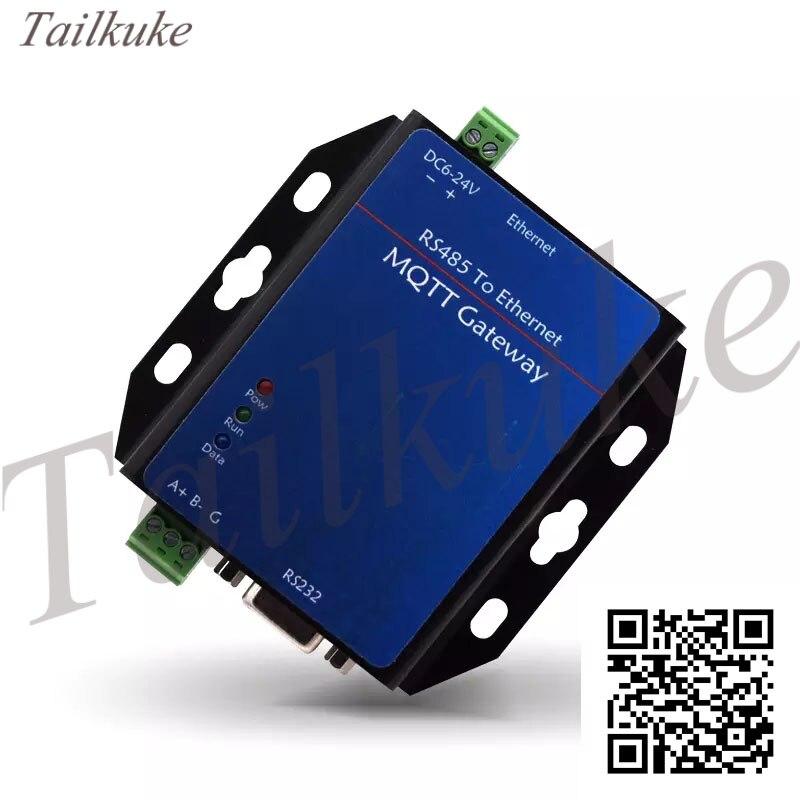 YK-G716 RS485 Switch Network Port Modbus/PLC To MQTT Gateway Module