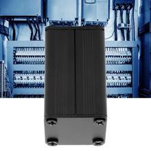 Водонепроницаемый распределительный ящик 25x25x40 мм алюминиевый корпус для охлаждения Сплит Тип Электронный DIY корпус монтажной платы проводка