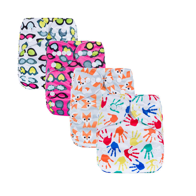 Fraldas de pano moderno dupla fileira snaps fralda de bebê aceitar pedido personalizado fralda de pano s-series
