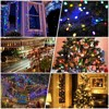 Outdoor Lighting String 22m 200 LED Solar Light for Garden Decoration Christmas Fairy Light Street Garland Home Solar Power Lamp promo