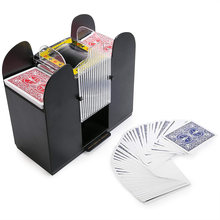 Shuffle Machine Board Game Poker Playing Cards Electric Automatic Card Game Party Entertainment And Card Shuffler Essentials(China)