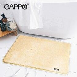Gappo tapete de banheiro de pelúcia, tapete de pelúcia grosso absorvido da porta do banheiro, quarto, não escorregadio tapete de chuveiro seco,
