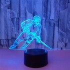3D LED Ice Hockey Pl...