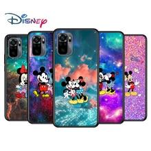 Mickey Minnie colorful for Xiaomi Redmi Note 10 10S 9 9T 9S 9Pro Max 8T 8Pro 8 7 6 5 Pro 5A 4X 4 Soft Black Phone Case