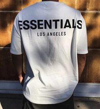 Nova marca essencial solto ajuste camiseta de algodão manga curta mulher camisa de manga curta