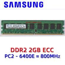Samsung chipset DDR2 4GB 2GB 1GB PC2 5300U 6400U ECC 1G 2G 4G 667 800 MHZ Server RAM Desktop memory