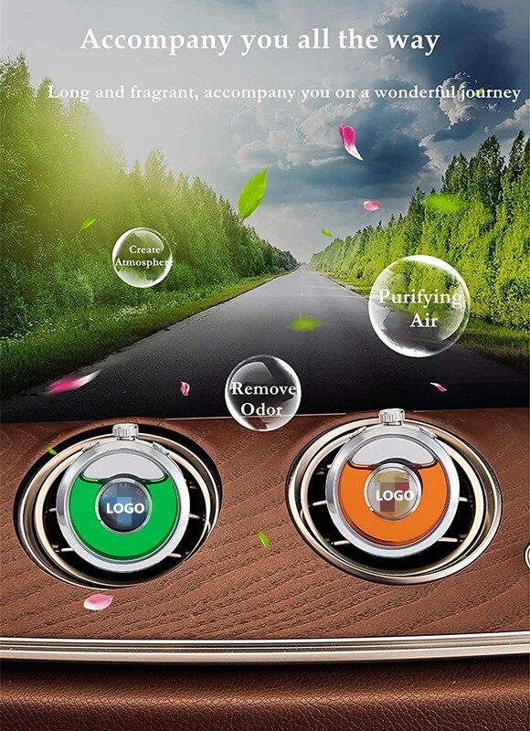 Автомобильный лого освежитель воздуха диффузор ароматизатор кондиционер с вентиляцией автомобиля с подарочной коробкой