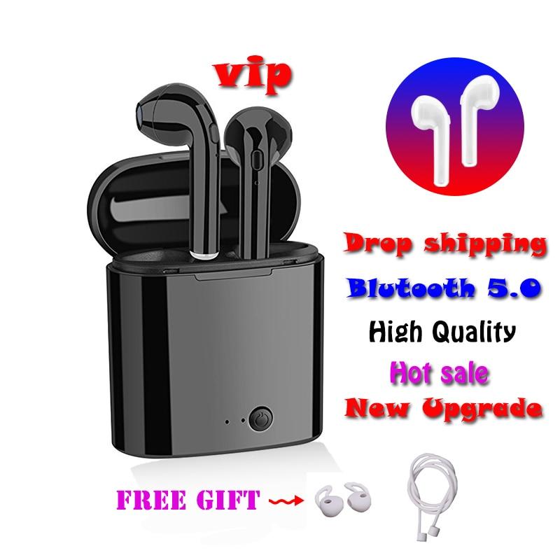 i7s TWS Mini Bluetooth Wireless Earphones Earbuds With Charging Box Sports Headset Audifonos i11 elari kulaklik xiomi ecouteur vase