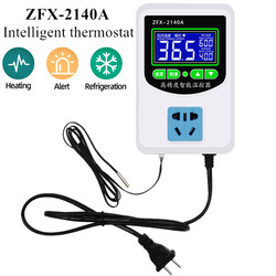 ZFX-2140A High precision intelligent thermostat Microcomputer Thermostat Temperature Controller Switch(US Plug) 2200W-3500W