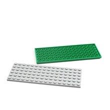 Plate Building-Toys 3027-Bricks Technic Educational 10pieces Blocks Kids 6x16 MOC Lovers