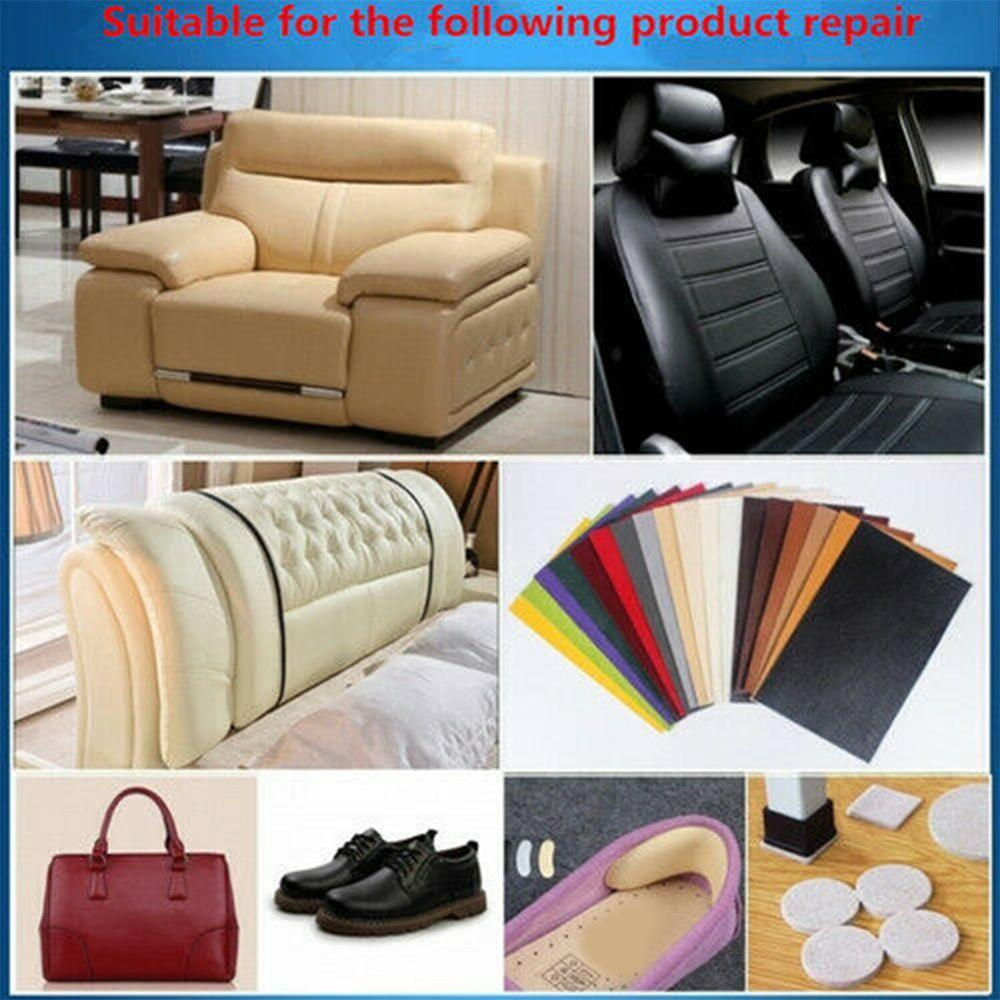 Sofa Repair Leather Self-Adhesive Pu For Car Seat Chair Bed Bag Patch Renew Sticker 7.6x152cm Leather Sofa Patches