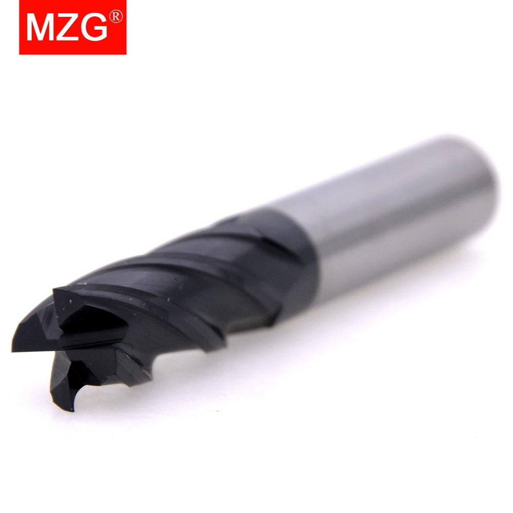 Closeout DealsMZG Milling-Cutter End-Mill Cutting-Hrc55 Carbide 4-Flute Tungsten Steel 12mm 5mm Price