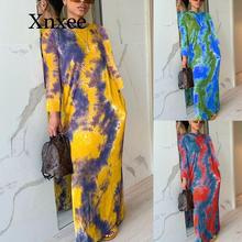 New Style Classic Long Sleeve African Clothing Dresses For Women Fashion Africaine Robe Maxi Dress Africa Clothes
