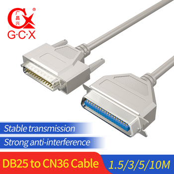 DB25 to CN36 Parallel Cable LPT print connector DB 25 Pin Male to DB 36 Female IEEE1284 Printer Cable Cord цена 2017