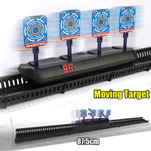 Electric-Target Toys Gun-Accessories Nerf Outdoor Auto-Reset DIY for Toy-Parts Scoring