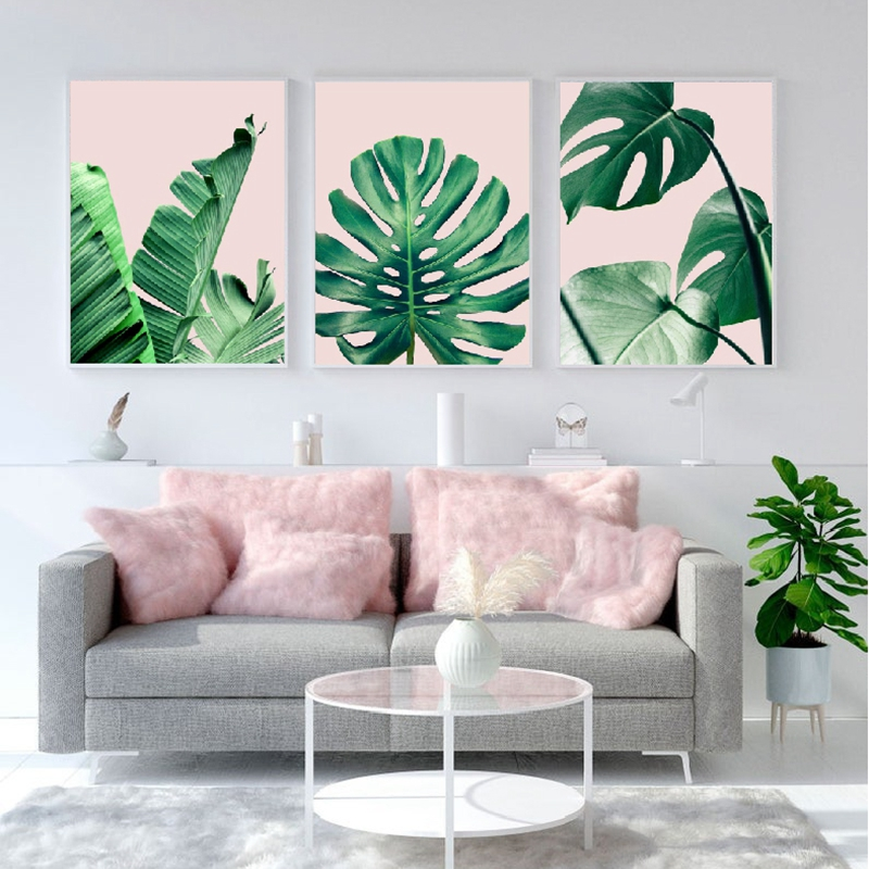 Tropical Leaf Posters And Prints Monstera Banana Palm Leaf Canvas Painting Botanical Green Leaves Pictures Home Wall Art Decor Painting Calligraphy Aliexpress The term art is such. tropical leaf posters and prints monstera banana palm leaf canvas painting botanical green leaves pictures home wall art decor
