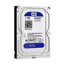 Жесткий диск Western Digital Blue WD10EZEX 3,5 дюйма 1 ТБ Sata III 7200 об/мин буфер 64 Мб