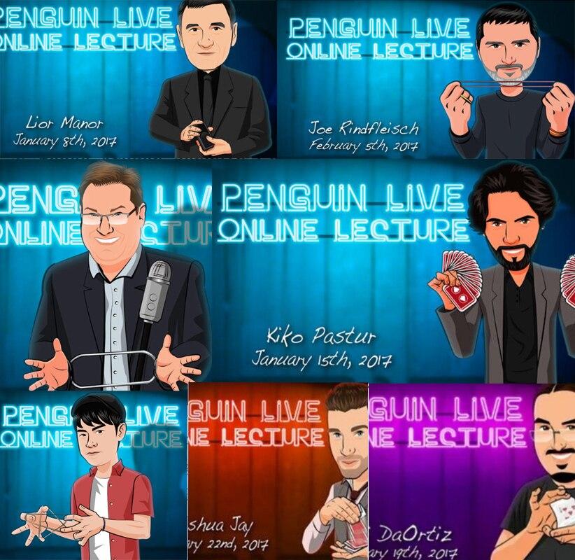2017 Penguin Live ACT Online Lecture (54 Videos) Collection Banachek  Joe Rindfleisch  Dani DaOrtiz Juan Tamariz - Magic Tricks
