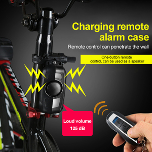 New Wireless Bicycles Motorcycle Anti-Theft Alarm Vibration Remote Control Smart Bluetooth Remote Control Door And Window Alarms