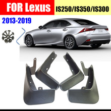 For lexus IS250 is300 IS350 Mud Flaps Splash Guards Fender car accessories Mudguards AUTO splash car accessories Front Rear fit 06 13 lexus is250 is350 4dr in s style poly urethane rear bumper lip