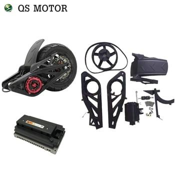 QS 3000W 138 70H mid dirve  electric bike motor mid drive kits 72V 100km/h