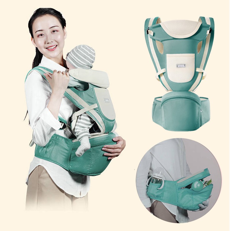 Newborn Hipseat Ergonomic Baby Carrier Backpack Wrap Carrier For Baby Waist Baby Kangaroo Carrying For Small Sling Baby Carrier