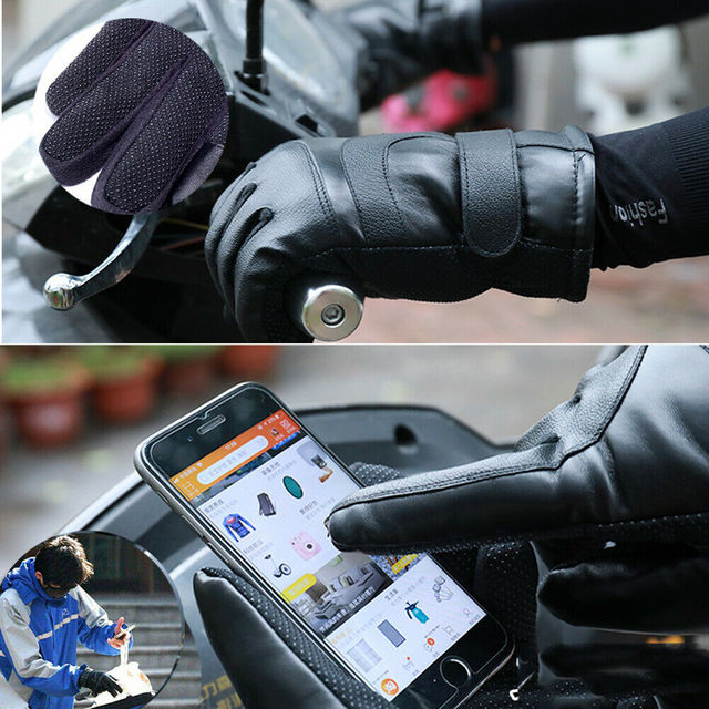 Winter Electric Heated Gloves Windproof Cycling Warm Heating Touch Screen Skiing Gloves USB Powered Heated Gloves For Men Women 4