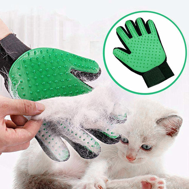 Pet care Glove Cat Grooming Glove Cat Deshedding Brush Gloves Dog Comb for Cat supplies Bath Clean Massage Hair Remover Brush 1