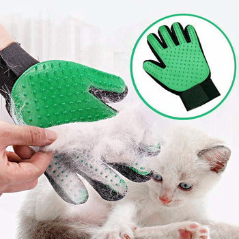 Pet care Glove Cat Grooming Cat Glove Deshedding Brush Gloves Dog Comb for Cat supplies Bath Clean Massage Hair Remover Brush new pet deshedding comb bursh cat dog hair remover brush grooming quick clean tools multi purpose comb hair for pet supply