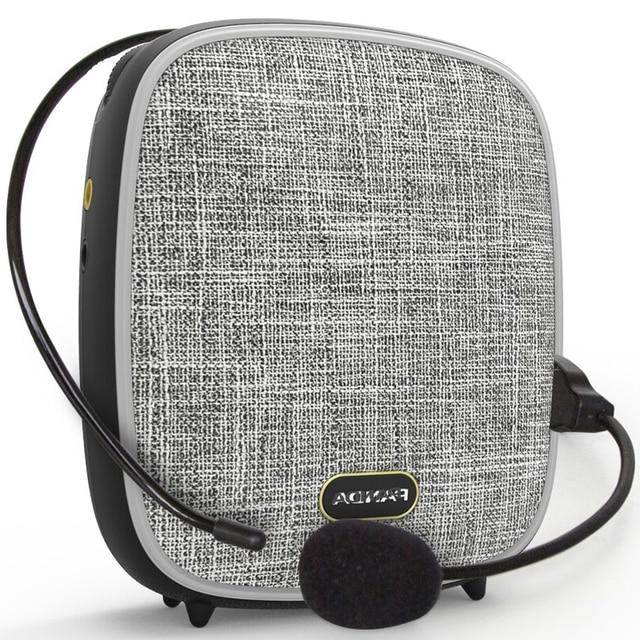 Nowy przenośny megafon z mikrofonem nauczanie odkryty megafon mini odtwarzacz muzyczny wzmacniacz głosu wsparcie AUX TF MP3/WMA/WAV Format