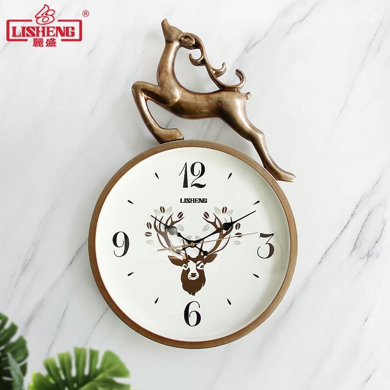 Nordic Large Wall Clock Metal 3d Living Room Silent Creative Clock Modern Simple Home Bedroom Horloge Murale Home Watch SC467