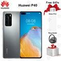 New Original Huawei P40 5G Mobile Phone 6.1 inch 8GB RAM 128GB ROM Kirin 990 Octa-core 50MP Ultra Version Camera NFC Smartphone