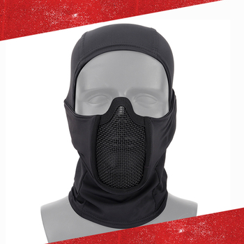 tactical full face mask hunting headgear balaclava mesh mask airsoft paintball game protective mask cs shooting ninja style mask Tactical Airsoft Mask Headgear Full Face Mask Hunting Breathable Airsoft Paintball Masks Outdoor CS Shooting Protective Helmet