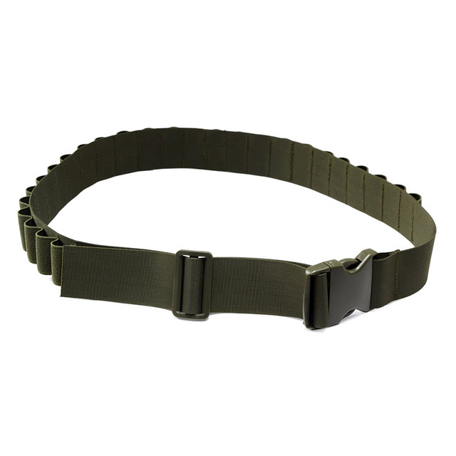 27 Rounds Hunting Bullet Ammo Tactical Military Airsoft Shotgun Shell Bandolier 12 Gauge Belt molle pouch hunting accessories 5
