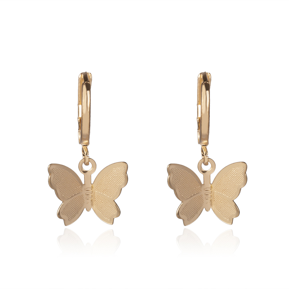 Gold Earrings 1638