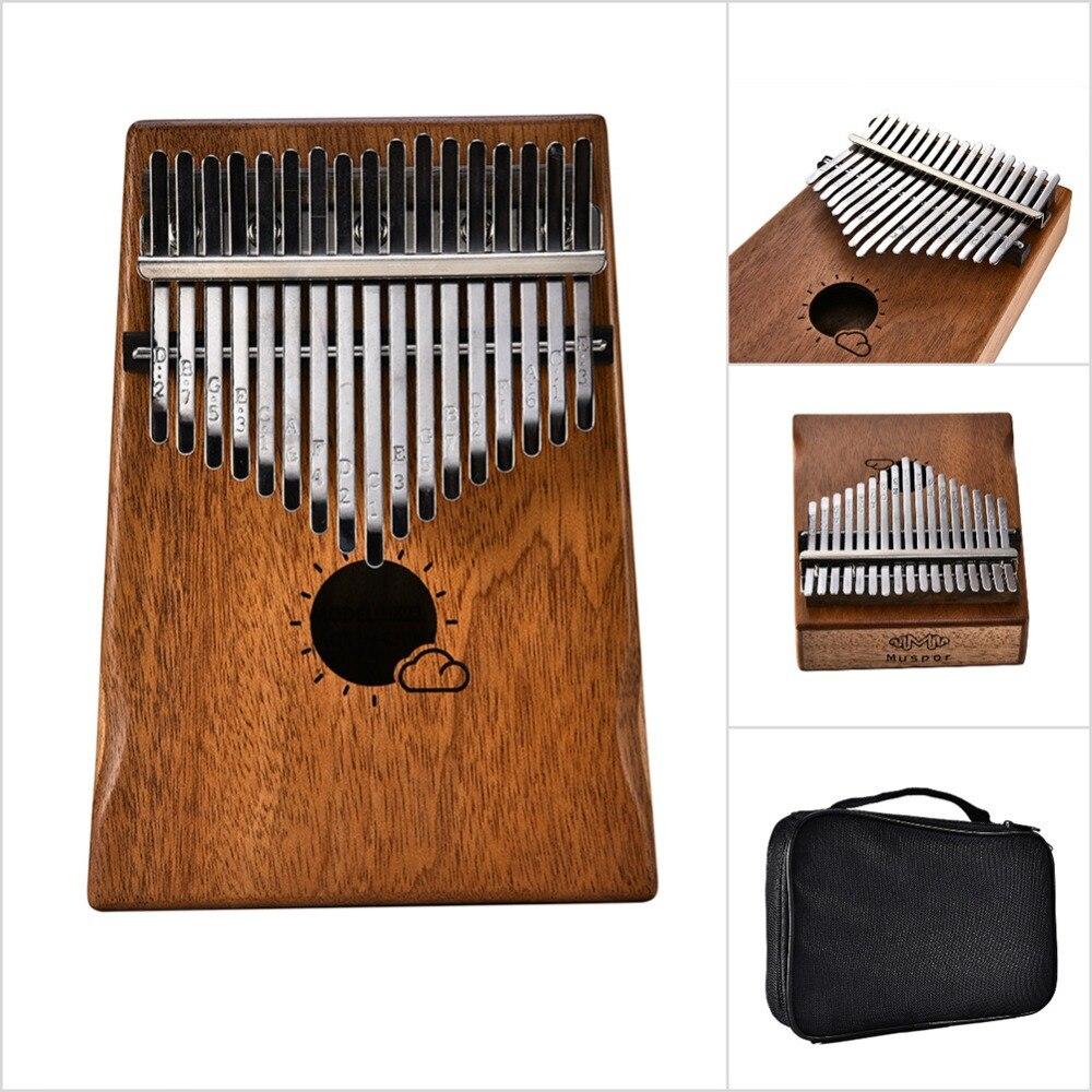 saco teclado instrumento kalimba sanza modelos de nuvem