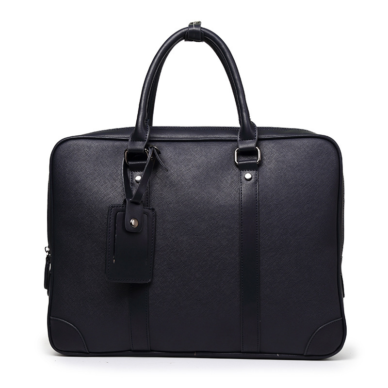 New Style Men's Handbag Business Briefcase Multi-functional Handbag Computer Bag Package Stylish MEN'S Bag