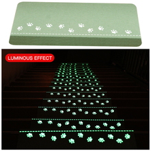 5PC Stair Carpet Step Board Non-slip Luminous Floor Covering Indoor and Outdoor Easy to Use Washable  Home Decoration gift