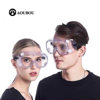 Ochronne okulary ochronne okulary ochronne okulary przeciwmgielne unisex pyłoszczelne RidingDoctor za pomocą okulary ochronne tanie i dobre opinie AOUBOU WOMEN Gogle Dla dorosłych Z tworzywa sztucznego UV400 67mm AB507 160mm 99 90 Anti-fog Prevent splashing dust-proof