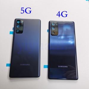 Image 3 - Hàng Chính Hãng Samsung Galaxy S20 FE 5G Pin Nhựa Nhà Ở Mặt Sau Ốp Lưng Thay Thế Cửa Hầm Đạn Phía Sau Keo Dán S20FE 4G