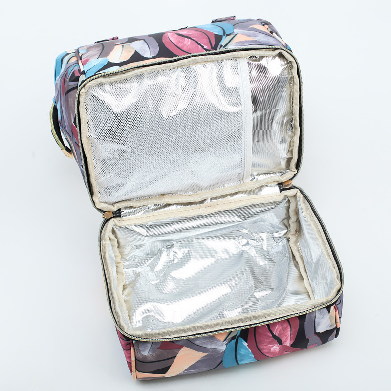 H024ee588519447d386d40ad7eba177d1K Diaper Bag Backpack For Moms Waterproof Large Capacity Stroller Diaper Organizer Unicorn Maternity Bags Nappy Changing Baby Bag