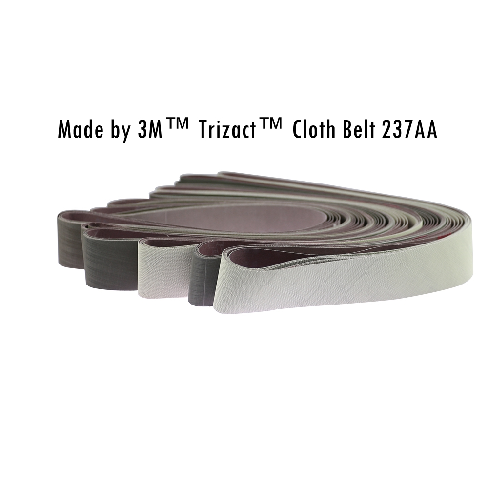 6 Pieces 1220x50mm 3M Trizact Sanding Belt 237AA For Stainless Steel Polishing A3 A5 A6 A16 A30 A65