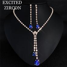 Богемное модное изысканное ожерелье серьги женские роскошные