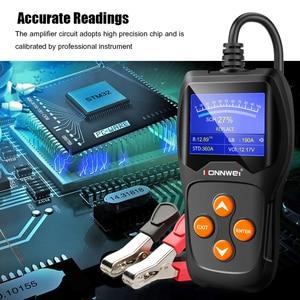 Image 5 - KONNWEI – testeur de batterie de voiture KW600, analyseur 12V, 100 à 2000CCA, Test de santé de la batterie/défauts, écran couleur numérique 12V, Diagnostic automatique