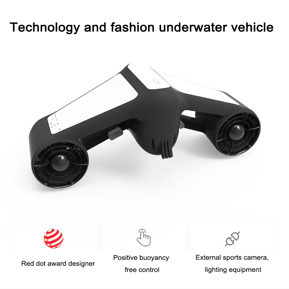 2019 New Electric Underwater Scooter Water Sea Two-speed Propeller Diving Waterproof Pool Scooter Water Sports Equipment