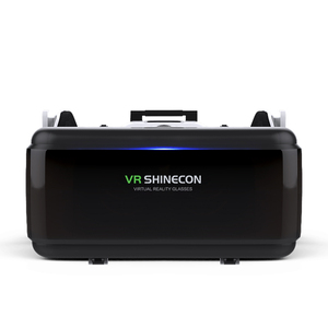 "Image 2 - VR Shinecon ใหม่ G06E 3D แว่นตาโทรศัพท์มือถือวิดีโอสำหรับ 4.7 6.0 ""กระดาษแข็ง Virtual Reality Smartphone ด้วย Gamepad"
