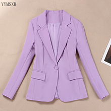Women's business suit blazer 2020 New High Quality Casual Wo