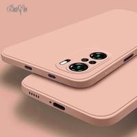 PocoPhone-Funda de silicona líquida para teléfono móvil Xiaomi, carcasa trasera ultrafina de lujo con NFC X3, M2, F2, F3, X2, X3 Pro